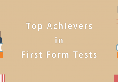 Top Achievers in First Form Tests