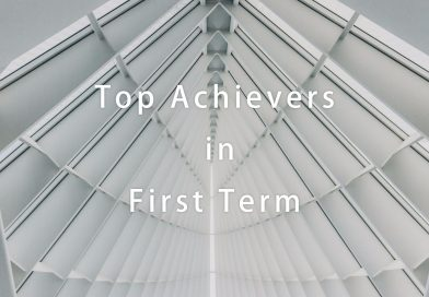 Top Achievers in First Term